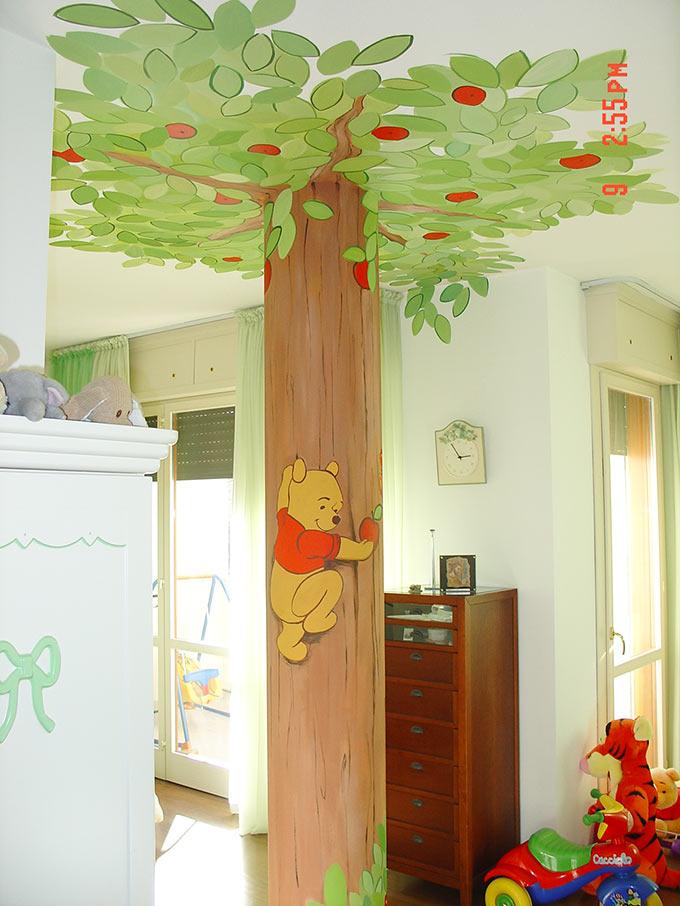 Decorazioni per camerette bambini - Decorazione parete cameretta ...